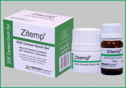 ZITEMP/CEMENTS & LINERS//PREVEST Direct a Unit of Prevest DenPro Ltd.(E-Dental Mart)